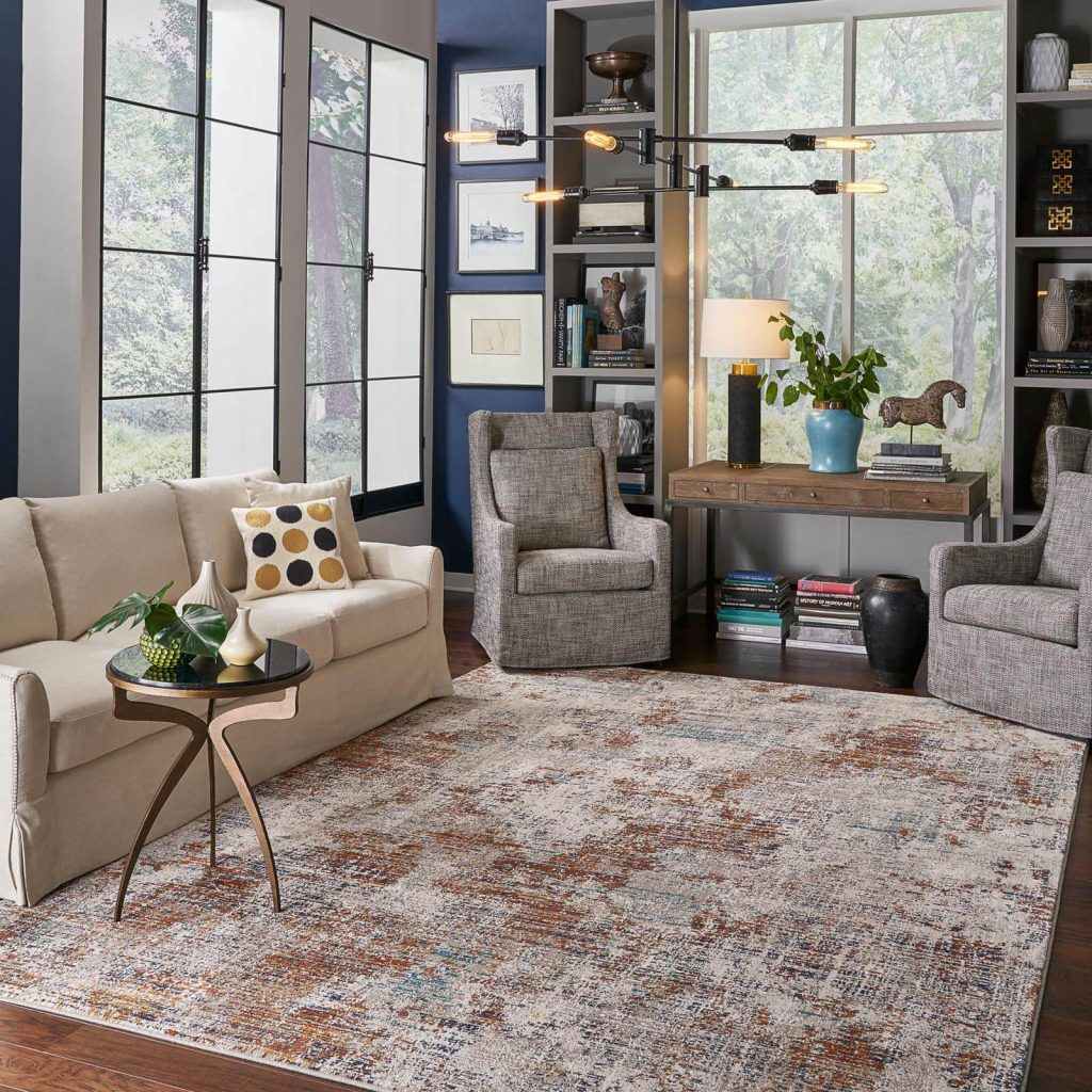Choosing the Right Size Area Rug | Yetzer Home Store