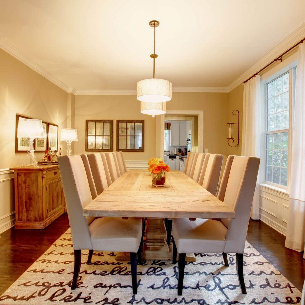 Choosing the Best Rug for Your Dining Room | Yetzer Home Store
