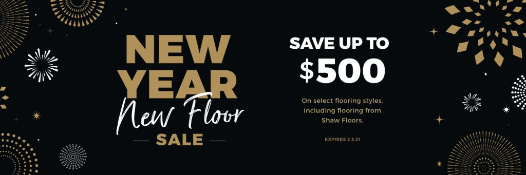 New Year New Floors Sale | Yetzer Home Store
